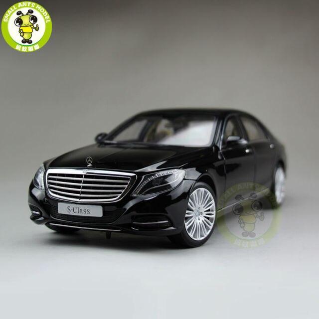1/18 Daimler Mercedes-benz S-class Classe S Clase Norev Modelo Diecast Modelo de Coche Negro