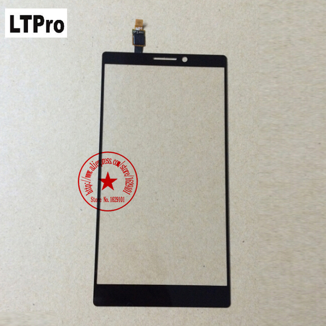 LTPro Top Quality Front Glass K920 Touch Screen Digitizer For Lenovo Vibe Z2 pro k920 Cell Phone Panel Replacement Parts Black