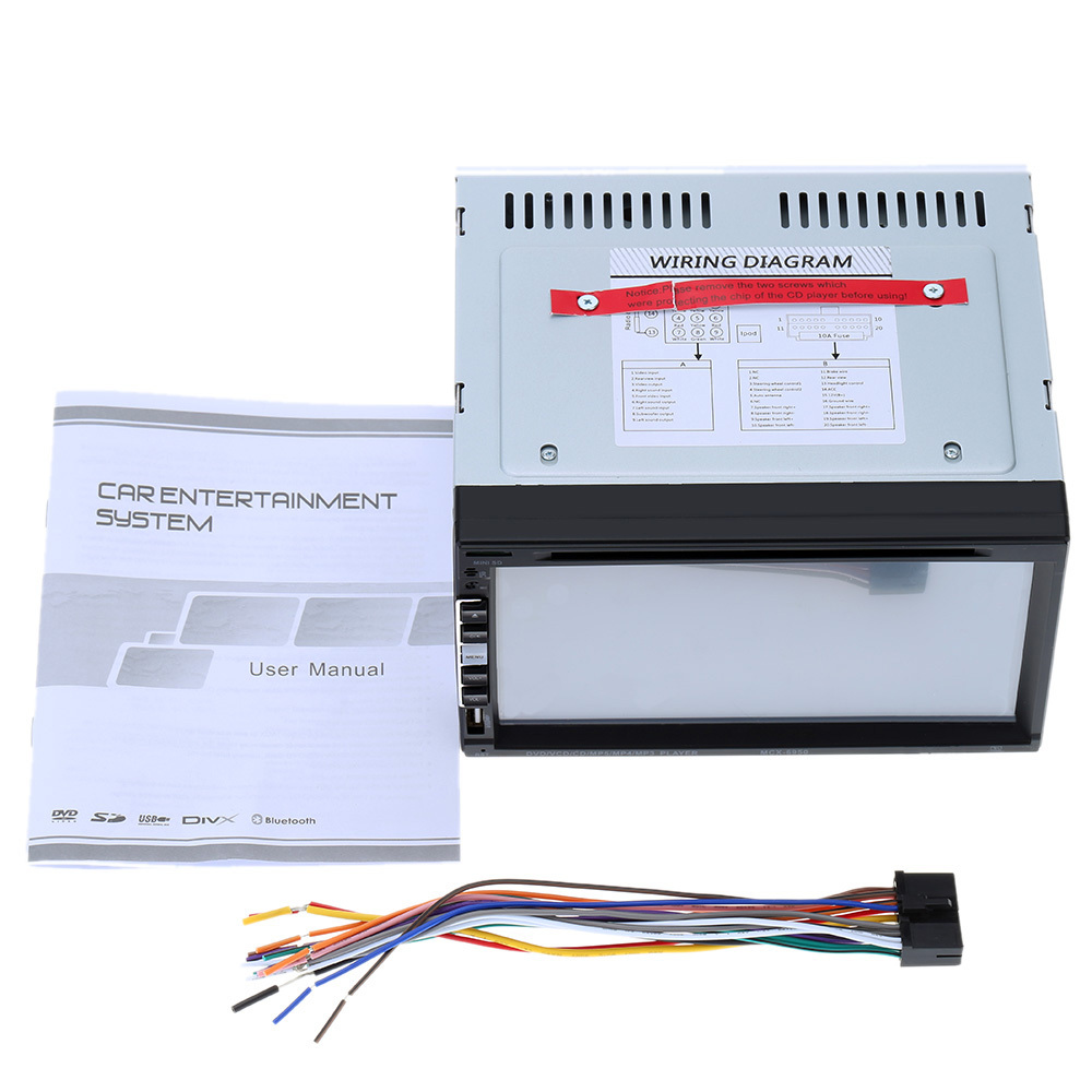 dvd player wiring diagram linafe com Wiring Diagram For In Car Dvd Player aliexpress com buy double 2 din 6 95 inch universal car dvd wiring diagram for in car dvd player
