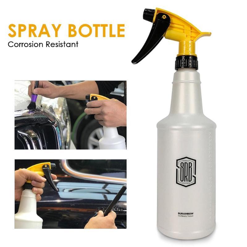 750ml Car Washing Hand Pressure Spray Bottle Auto Wash Detailing Cleaning Garden Flower Care Home Cleaning Sprayer Bottle New