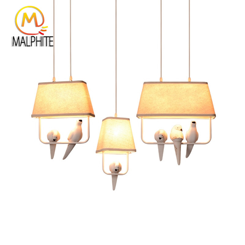 Modern Led White Bird Light Hanging Pendant Lights Kitchen Lamp Fixtures Lighting for Bedroom Living Room Home Decor LuminaireModern Led White Bird Light Hanging Pendant Lights Kitchen Lamp Fixtures Lighting for Bedroom Living Room Home Decor Luminaire