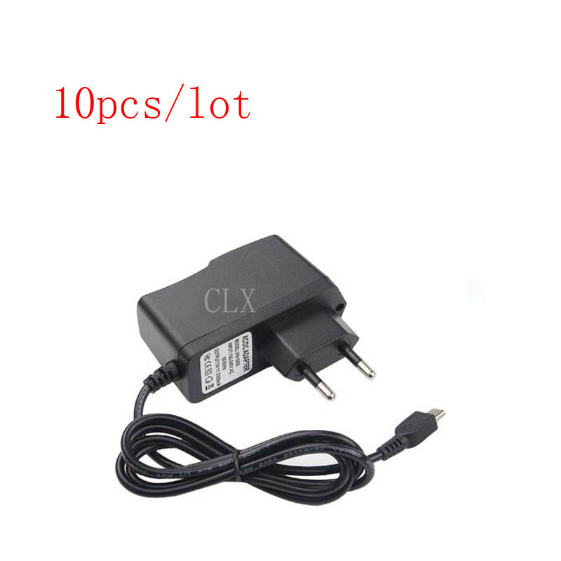 10 Pcs lot Raspberry Pi 3 Power Charger 5V 2 5A Micro Port Power Adapter Supply