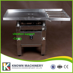 18kg Chocolate Vibration table machine free shipping by Express to door