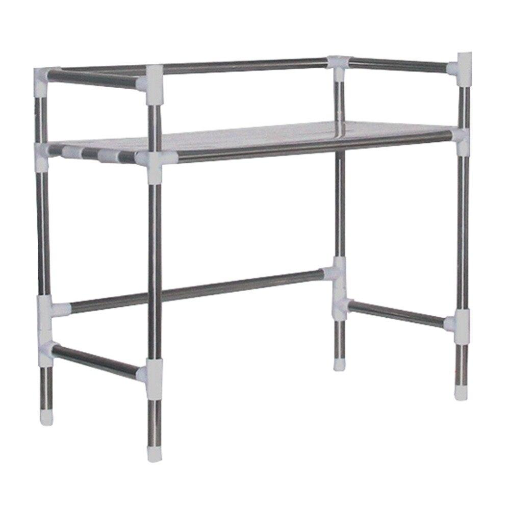 YONTREE 1 unid Multi capa de acero inoxidable horno de microondas Rack de  almacenamiento de cocina titular envío gratuito H3520 en Soportes y  estanterías de ... 17ae845a8398