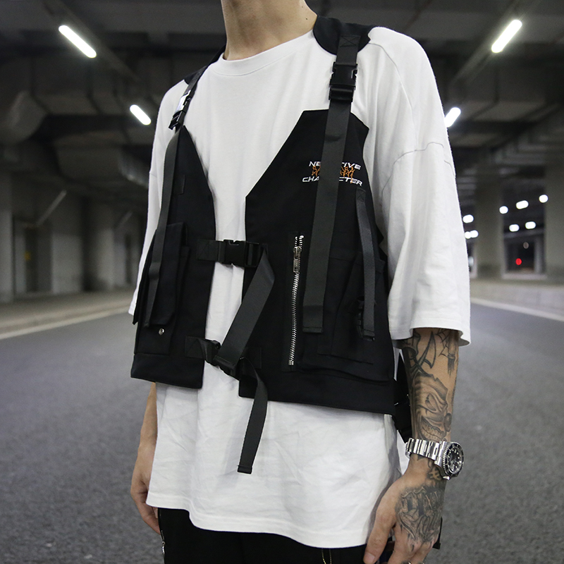 Backpacks 2019 Hip-hop Kanye West Street Ins Hot Style Chest Rig Military Tactical Chest Bag Functional Package Prechest Bag Vest Backpack To Enjoy High Reputation In The International Market
