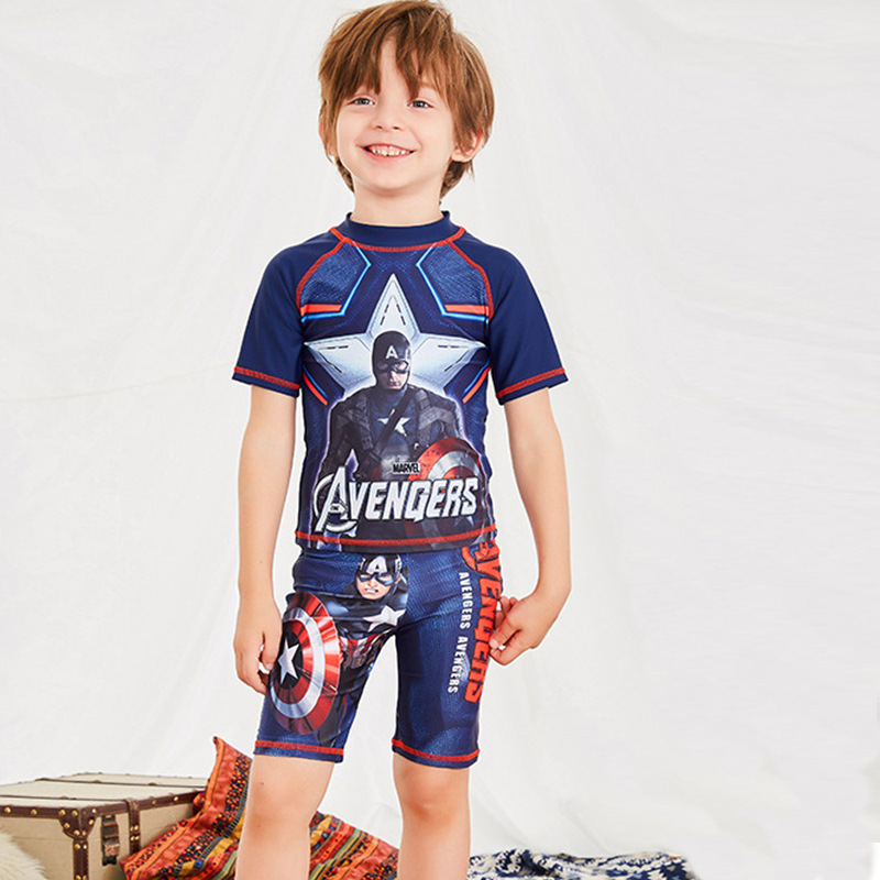 Baby Clothing Children's Clothes Boy Swimsuit Swimwear Bikini Kids New Children For 2019 Boys Babies Separated Cute Surfing