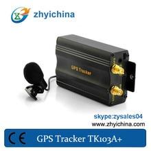 2014 Newest dual sim card gps tracker TK103A+  selling around world