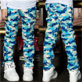 Hot sale Spring Autumn camouflage pattern kids jeans Children Pants baby Boys Casual Trousers Fashion Kids Pants