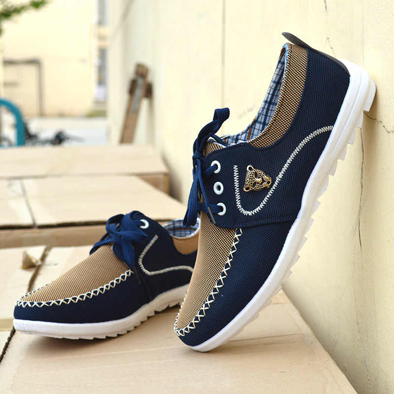8b0369251 Демисезонный Для мужчин повседневная обувь легкая дышащая обувь для  вождения Высокое качество топсайдеры Для мужчин;