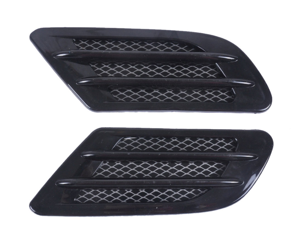 Citall Car Side Air Vent Fender Cover Intake Duct Flow Decoration Sticker For Mercedes Bmw Mazda