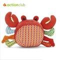 2016 hotselling nova chegada de caranguejo chocalhos de brinquedo do bebê do coelho bola brinquedos frete grátis