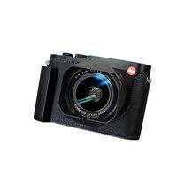 Milicase Handmade Genuine Leather Camera case Video Half Bag For Leica Q2 Retro Vintage Bottom Case