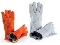 Коровьей износостойкие теплоизоляция сварки защитные рабочие перчатки