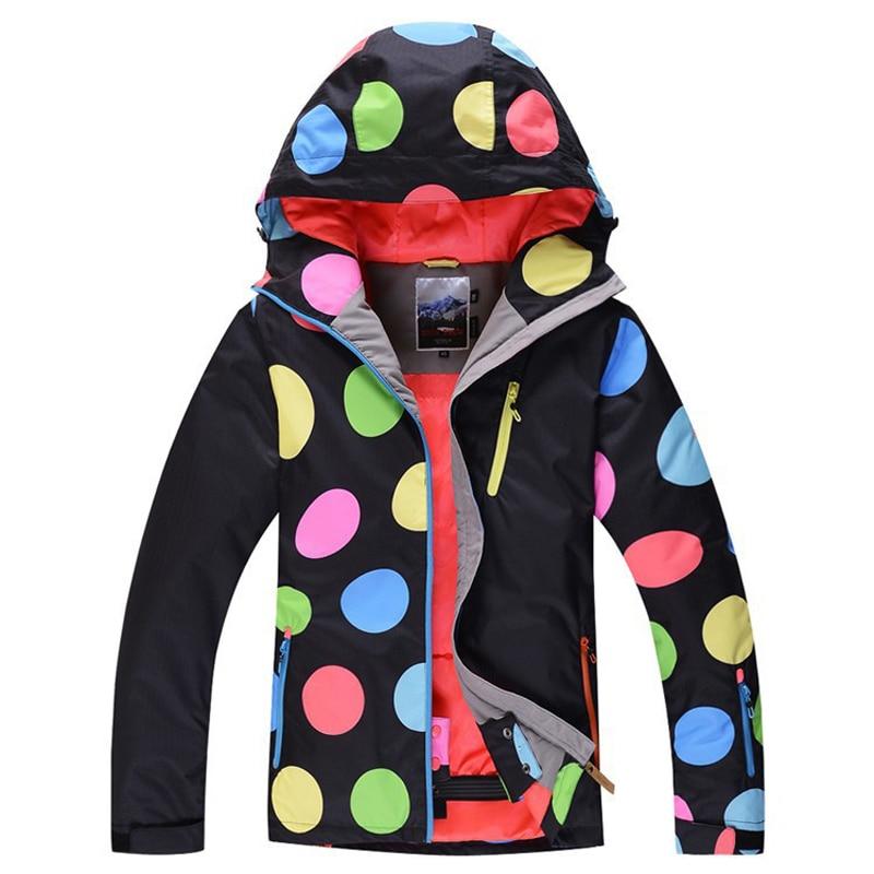 New 2016 winter  WOMEN Warm Skiing Jackets Winter snowboard Windproof Outdoor Hiking Sports Waterproof Jacket/suit