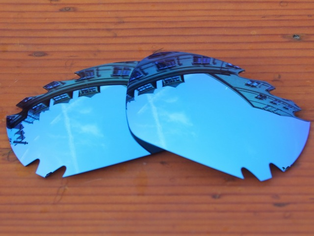 621218a8db Ice Blue Mirror Polarized Replacement Lenses For Jawbone Vented Sunglasses  Frame 100% UVA   UVB Protection