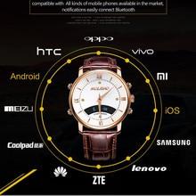 K18 A1สมาร์ทนาฬิกาบลูทูธ4.0กันน้ำการตรวจสอบสุขภาพN Octilucentผู้ชายธุรกิจSmartwatchสำหรับAndroidและIOSผู้หญิงนาฬิกา