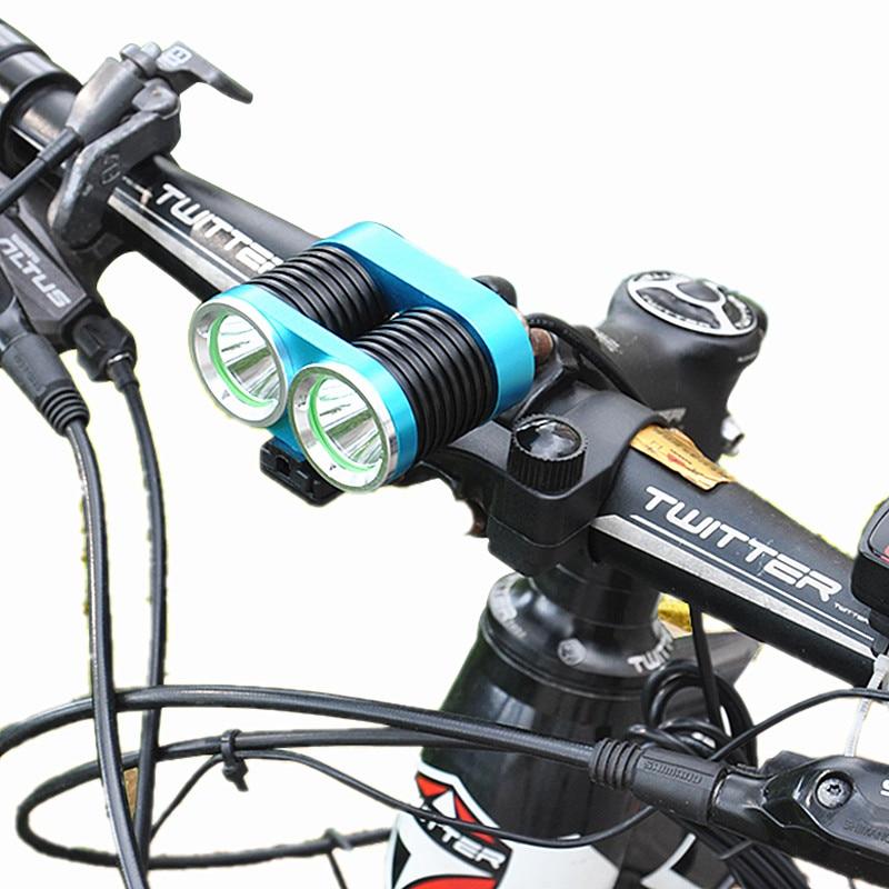Waterproof 6000LM L2 3Mode LED Front Bike Lamp Bicycle Light HeadLamp+Laser Rear