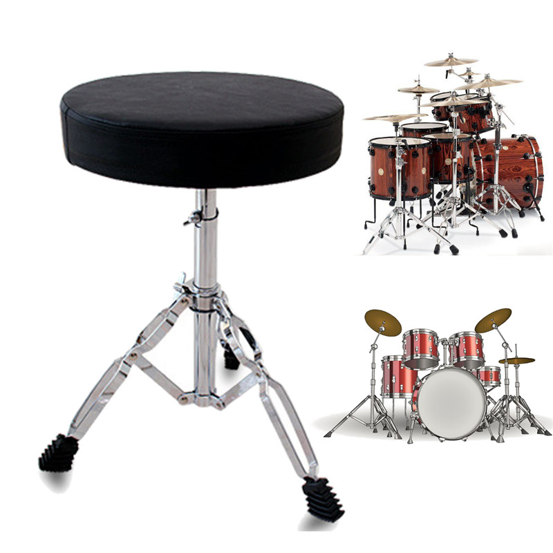 Zebra Padded Drum Seat Stool Stand Chair For Drum Drummers Guitar Keyboard Percussion Instruments Parts Accessories baby seat inflatable sofa stool stool bb portable small bath bath chair seat chair school