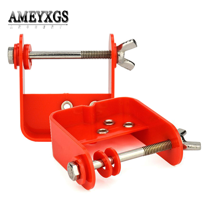 US $9 8 32% OFF|1pc Bowstring Serving Tool Plastic Material Bow String  Serve Jig Hunting Shooting Archery Accessories-in Darts from Sports &