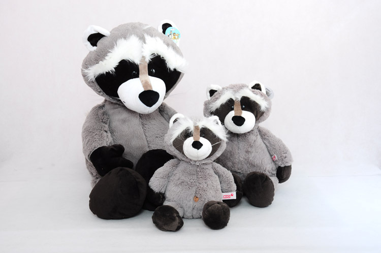 45cm lovely raccoon plush toy cartoon raccoon doll girlfriend gift  b4450 the huge lovely hippo toy plush doll cartoon hippo doll gift toy about 160cm pink