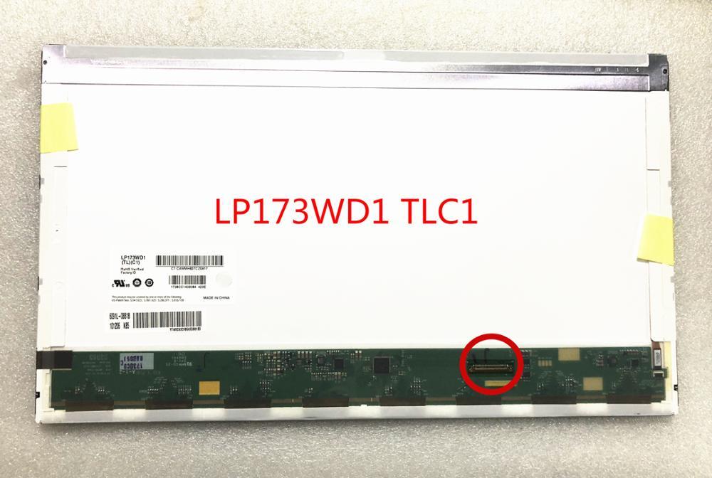 Free Shipping LP173WD1 TLC1 LP173WD1 TLD2 LTN173KT01-H01 B173RW01 17.3
