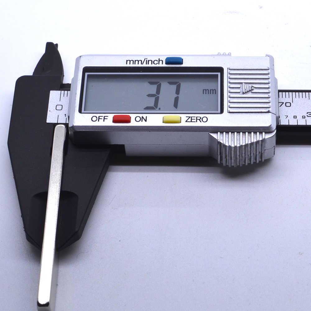 高品質5ピース60ミリメートルx 10ミリメートルx 4ミリメートルn50ブロック磁石希土類ネオジム磁石60 × 10 × 4ミリメートル立方体磁石強力な