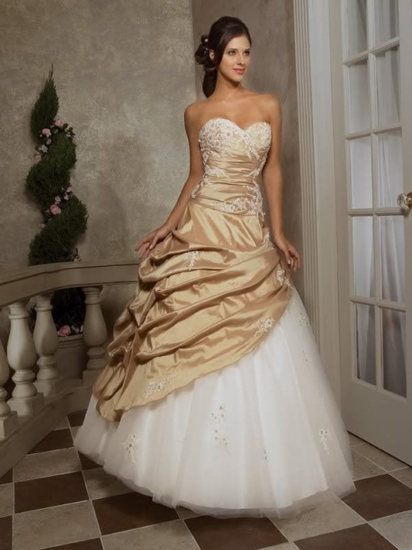 Popular Gold Beaded Ball Gown-Buy Cheap Gold Beaded Ball Gown lots ...