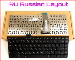 Клавиатура для ASUS VivoBook F402C, русская версия, X402, S400CB, X402C, X402CA, S451, S451E, S451L, S451LB, ноутбук без рамки