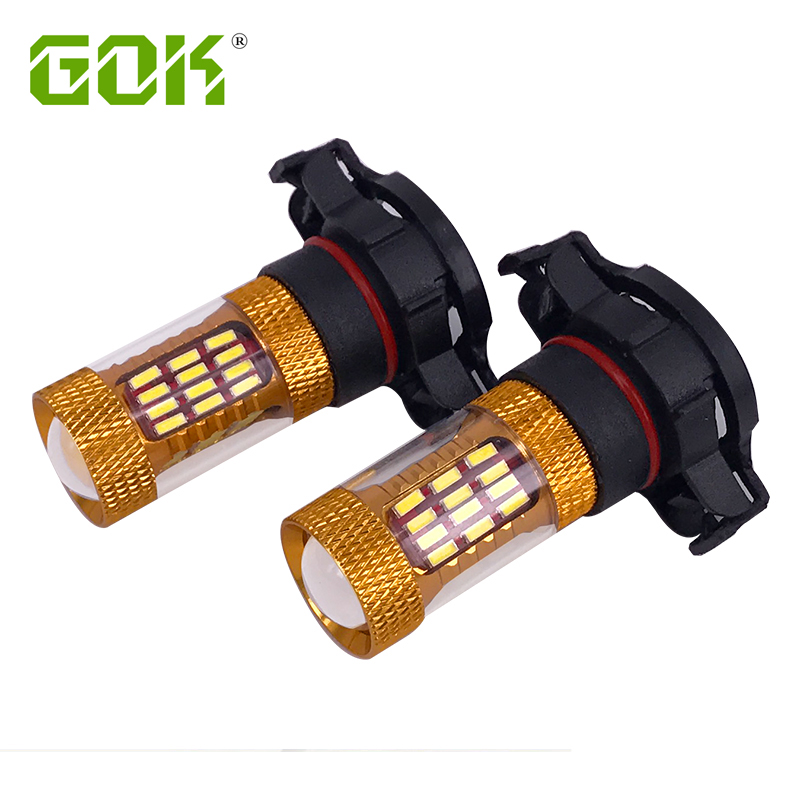 10ks H11 H7 H4 H16 led 60SMD 4014 LED Vysoce výkonná lampa LED Mlhové světlo LED žárovky do auta Zdroj světla parkování 12V 6000K