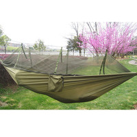 Parachute Fabric Hammock Portable High Strength Mosquito Net Outdoor Camping