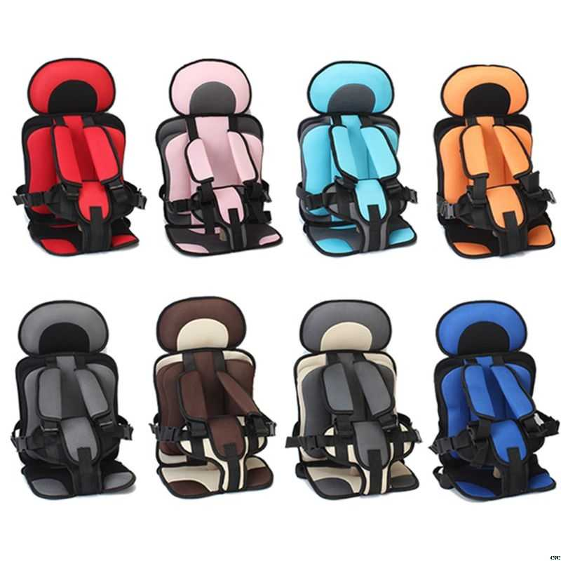1-5T Travel Baby Safety Seat Cushion With Infant Safe Belt Fabric Mat Little Child Carrier Child Car Safety Seats