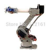 Volledig Gemonteerd 6 Axis Mechanische Robotarm Clamp voor Arduino, raspberry mor dhl diy robot
