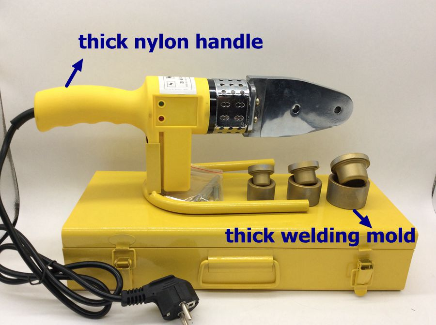 Máquina de soldadura de tuberías PPR, soldadora de plástico, - Equipos de soldadura - foto 2