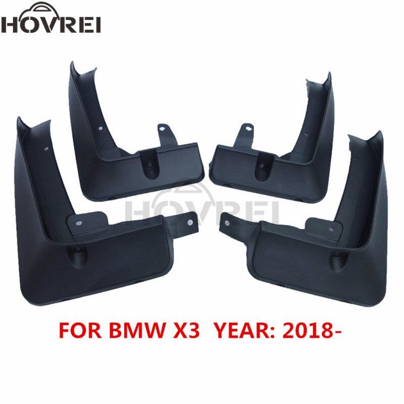 For BMW X3 G01 2018 2019 Mudguards Mudflaps Front Rear Mud Flaps Splash Guards MudFlap Fender