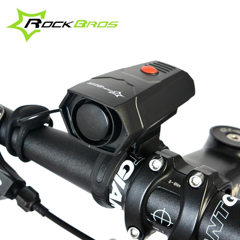 RockBros Cycling Cycle Horns Bike Bicycle Safety Practal Convenient Handlebar Ring Extremely Seriously Loud Sound Alarm Bell