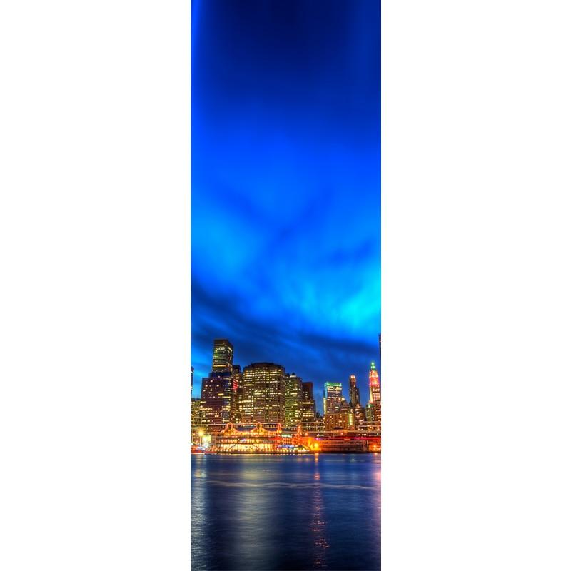 Yataq otağının mənzərəsi üçün 3 panel müasir yağlı boya - Ev dekoru - Fotoqrafiya 4