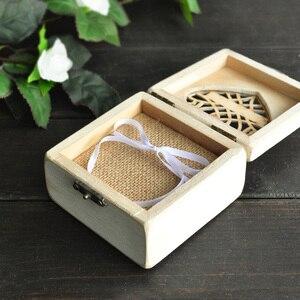 Image 4 - Индивидуальная коробка для обручальных колец, держатель для колец, подушка для обручальных колец B