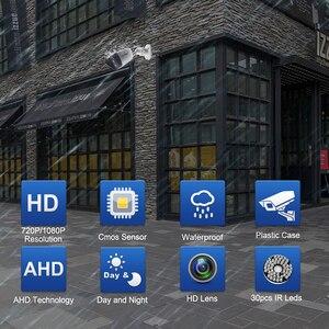 Image 2 - Samr AHD caméra HD 720P 1080P caméra de Surveillance CCTV balle extérieure maison caméra vidéo 30 pièces infrarouge led filtre à IR CUT