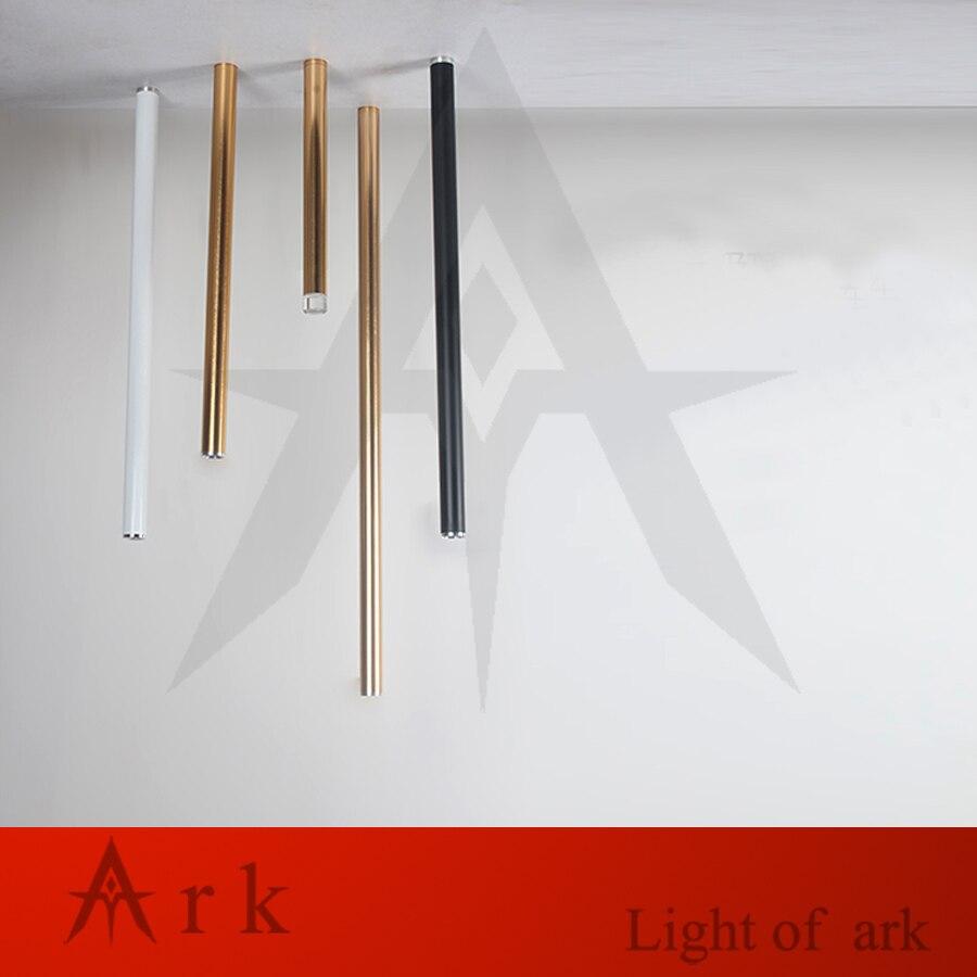 Ark light Dia 3cm BLACK Aluminum cannular CEILING Lamp Cylinder Shape LED light Custom p ...