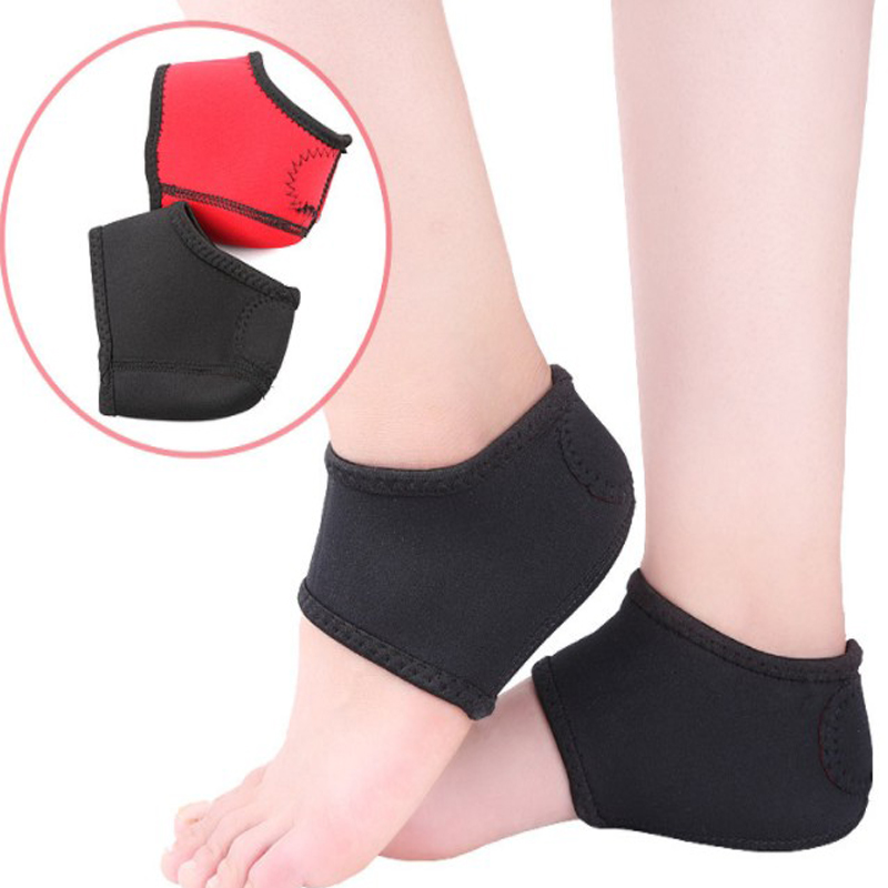 2 Pieces Heel Protector Protective Warm Shoe Covers Sleeve Heel