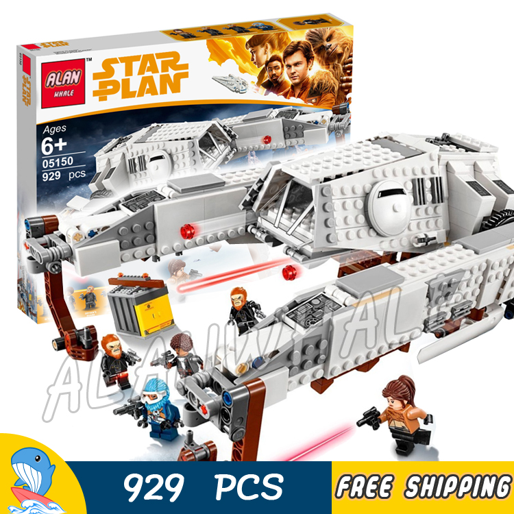 929pcs Space Wars Imperial At-Hauler Lifter Arms Carrier 05150 Model Building Blocks Assemble Toys Bricks Compatible With Lego 499pcs new space wars at dp robots 10376 model building blocks toys gift rebels animated tv series bricks compatible with lego