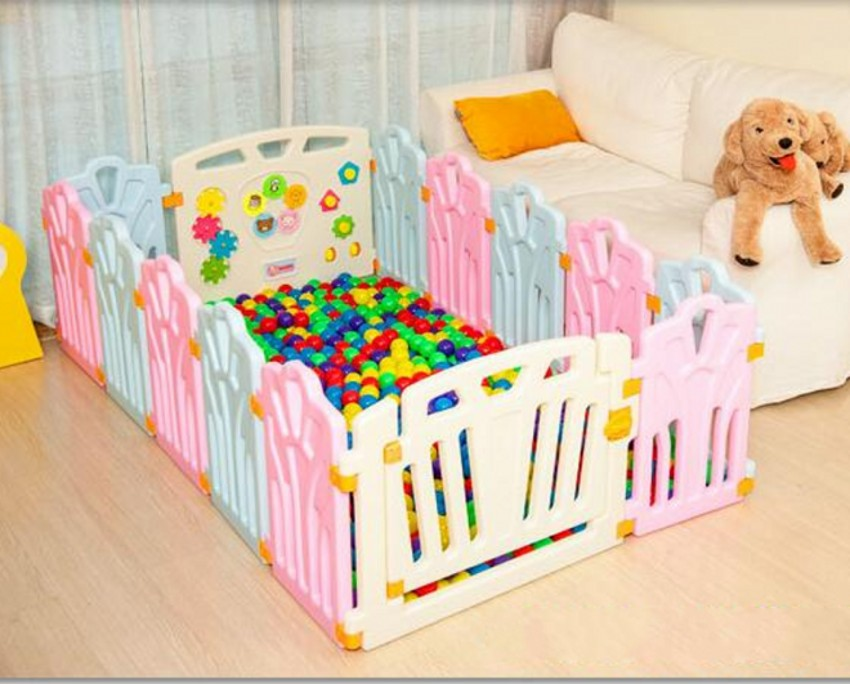 Colorful Safe Baby Kids Play Fence Baby Learning Walking Toddler Game Activity Fence Playpen Protection Fence цена 2017
