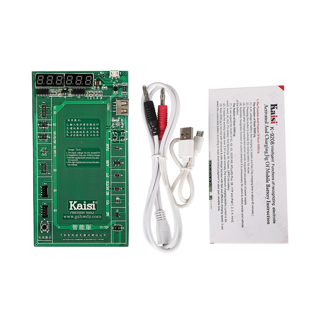 Teléfono Placa de activación de batería placa de carga Cable USB para iPhone  X 8 8 más 7 más 7 6 s 6 5S 5 para Samsung Huawei prueba del circuito dfeba5da6ad9