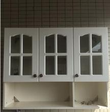European style kitchen condole top hangs ark three glass door to add bottom multilayer board