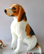 Beagle Dog Standing Children'S Toys Stuffed Animal Doll Simulation Pet Dog Plush Toy 68cm Gift