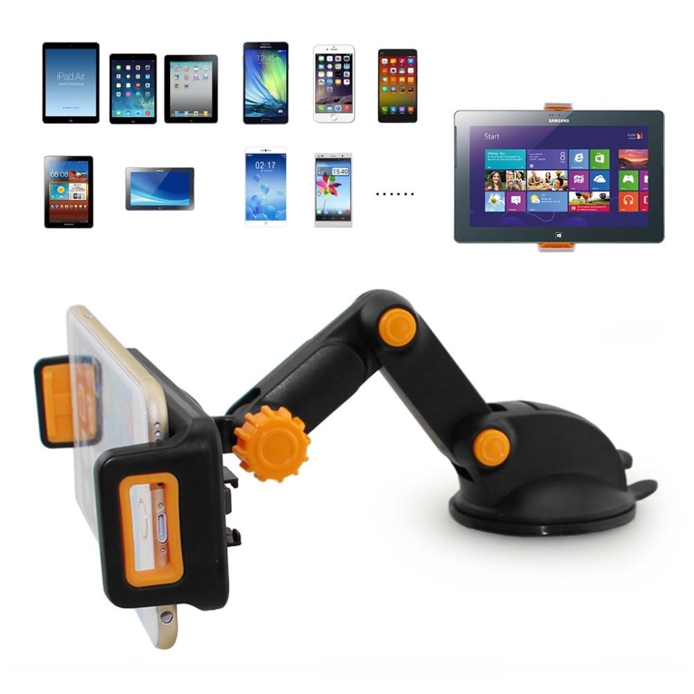 360 Degree Tablet car holder Foldable Dashboard Suction Universal Car Holder Mount Stand For Phone Tablet GPS