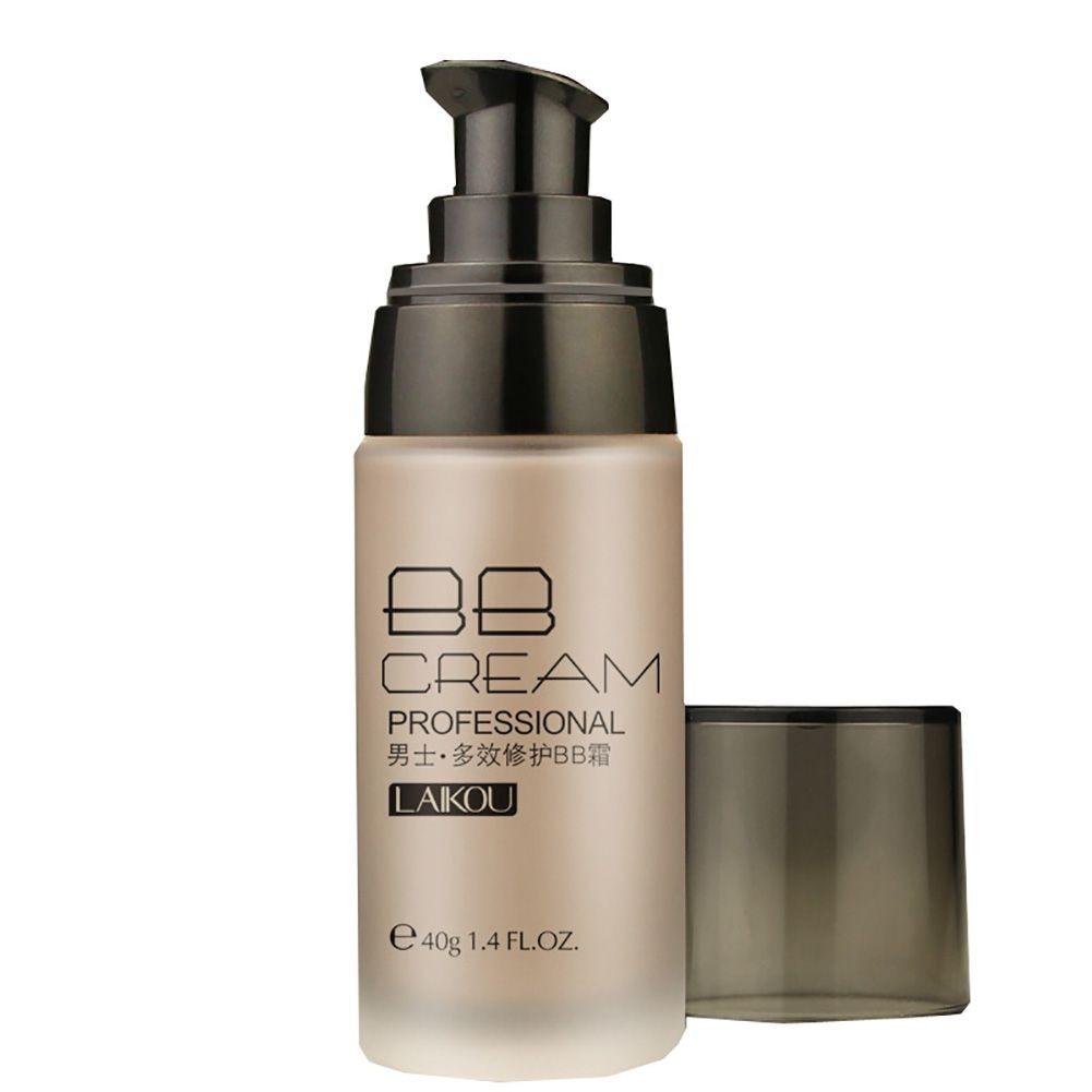 Men BB Cream Whitening Moisturizing Skin Care Makeup Liquid Foundation Concealer 4