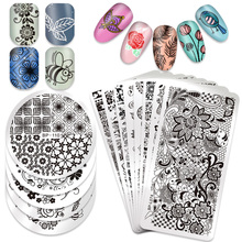BORN PRETTY 1 Pc Nail Stamping Plate Celebration Valentines Day Manicure Stencils Art Image Template Tool BPX-L014