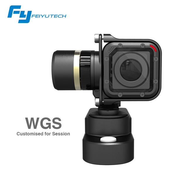 Feiyu FY WGS Wearable 3 Axis Brushless Hot Sale Gopro Session metal stabilizer gimbal  WGS Wearable gimbal