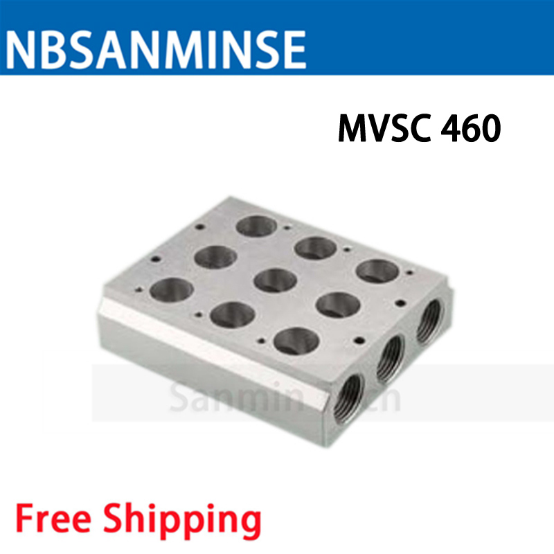 NBSANMINSE MVSC 260 300 460 Solenoid Valve Manifold Mindman Series Conflux Board High Quality in Valve from Home Improvement